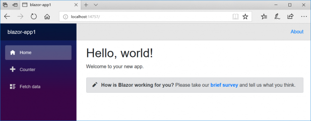 Blazer - The new experimental web framework from Microsoft